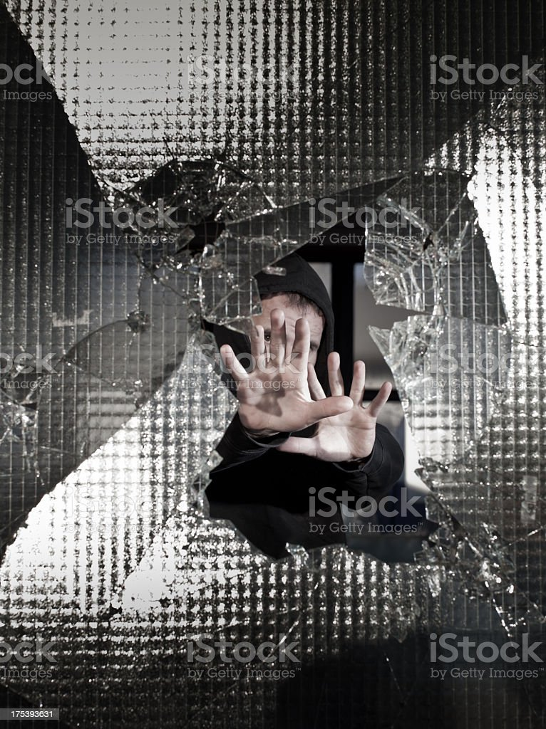 Keep away from me... stock photo
