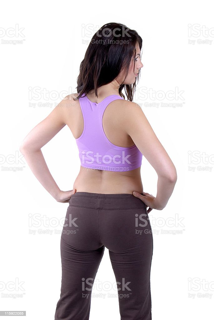 Keep Fit Woman royalty-free stock photo