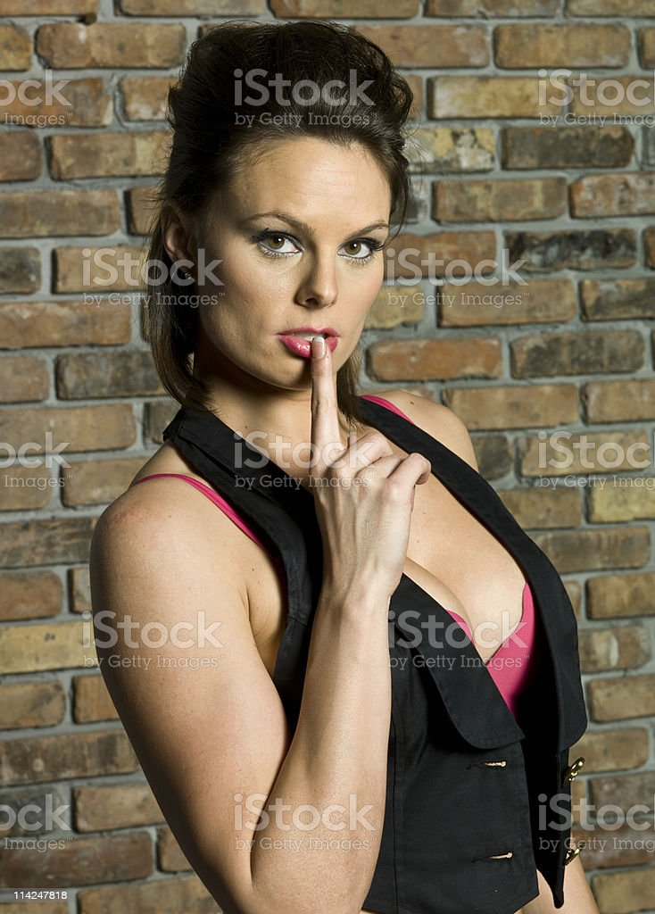 Keep it quiet royalty-free stock photo