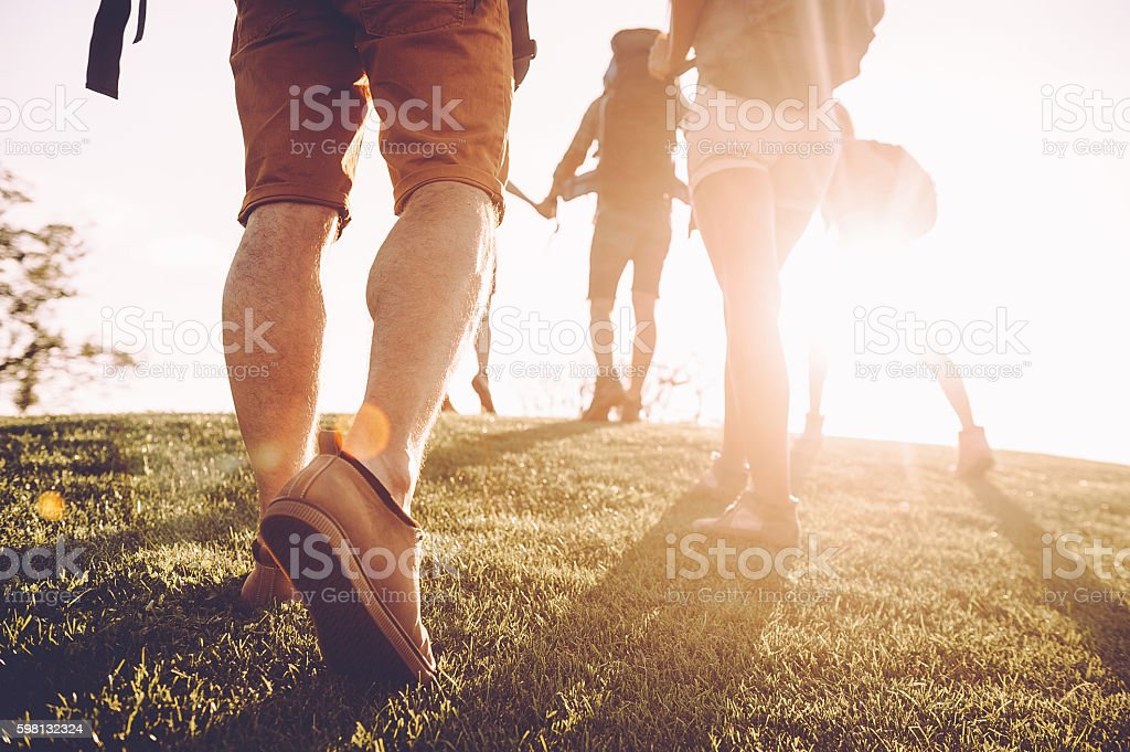 Keep moving! stock photo