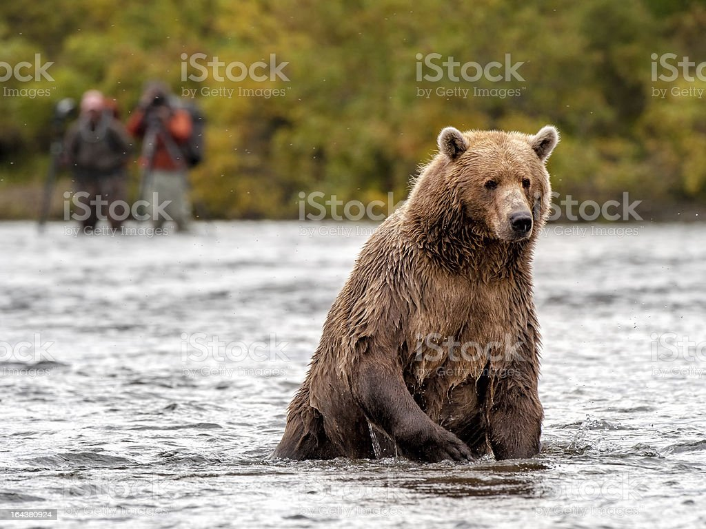 Keep on Fishing royalty-free stock photo