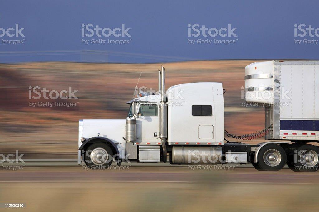 Keep on Trucking royalty-free stock photo