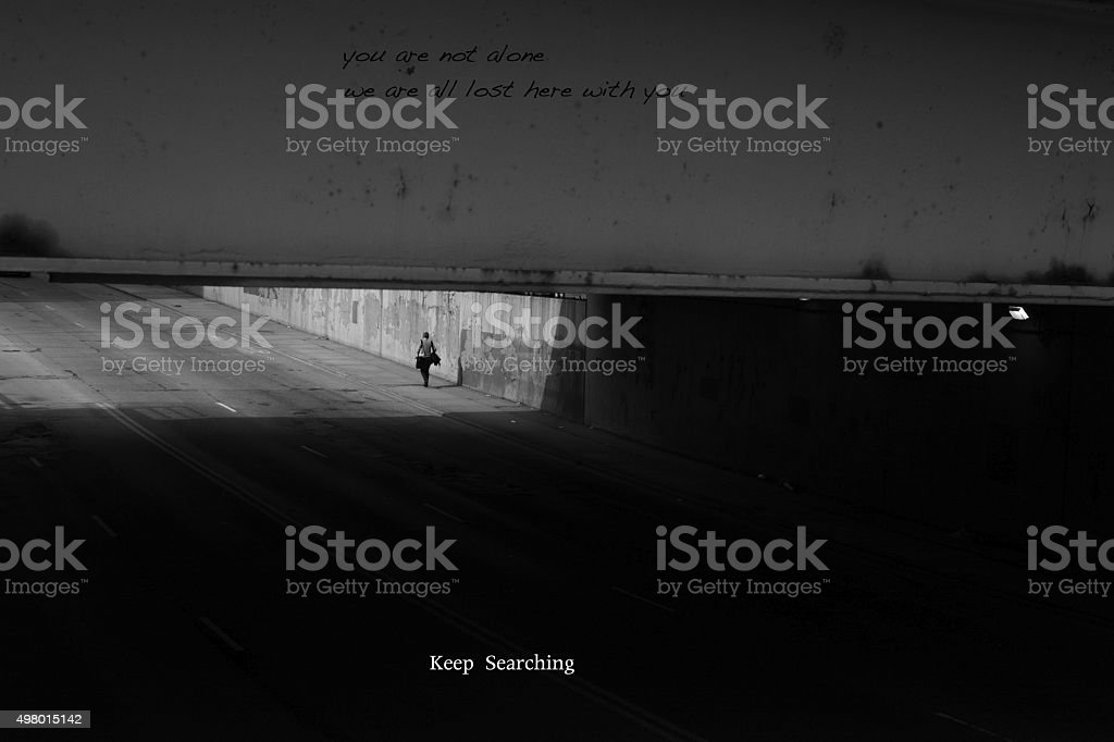 keep searching. stock photo