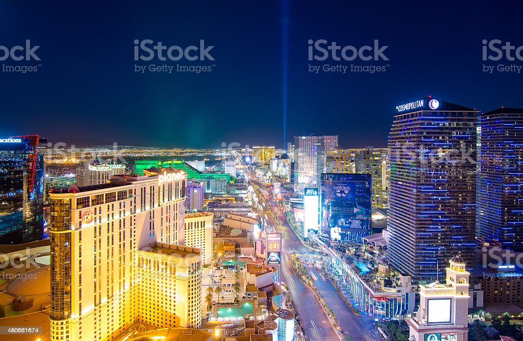 Keep the world spin in Las Vegas stock photo