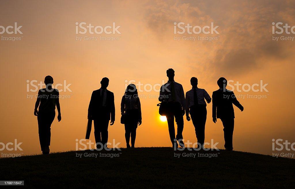 Keep walking royalty-free stock photo