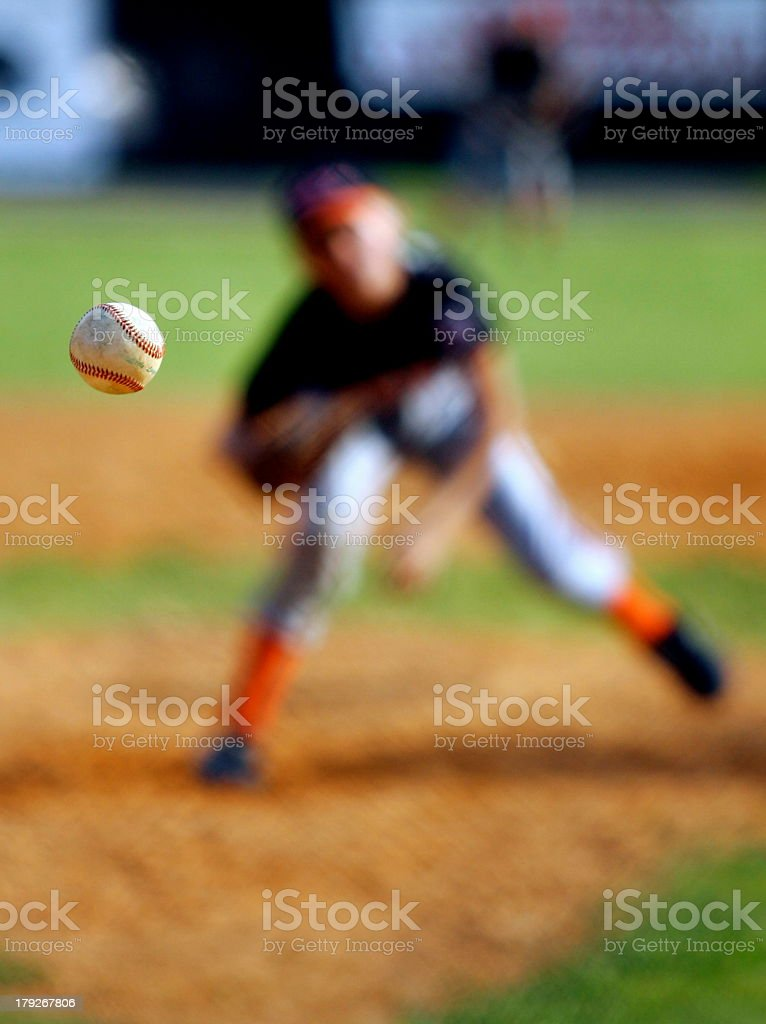 Keep Your Eye on the Ball stock photo