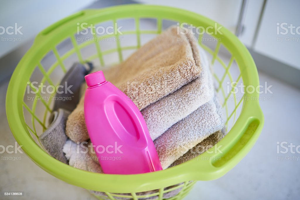 Keep your towels clean stock photo