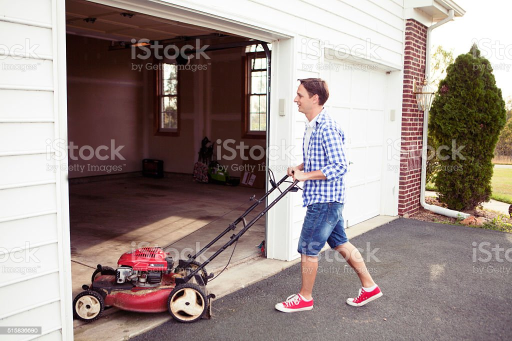 Keeping house clean and orderly stock photo