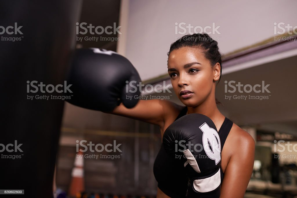 Keeping in tip top shape stock photo