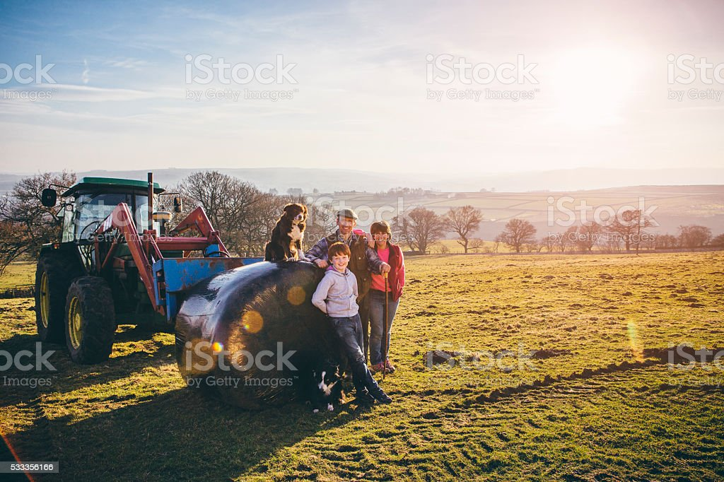 Keeping it in the Family stock photo