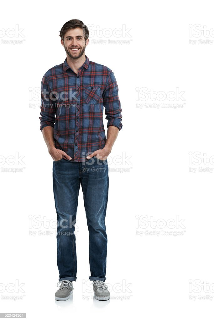 Keeping it real! stock photo