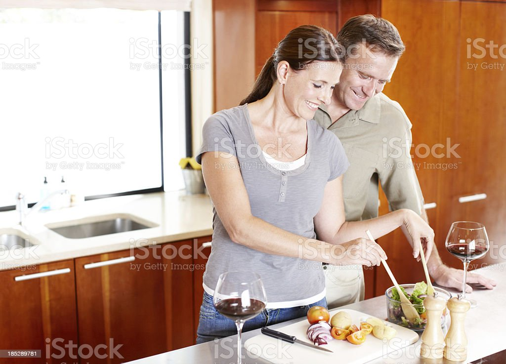 Keeping our meal times healthy stock photo