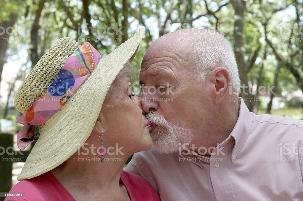Keeping Romance Alive stock photo