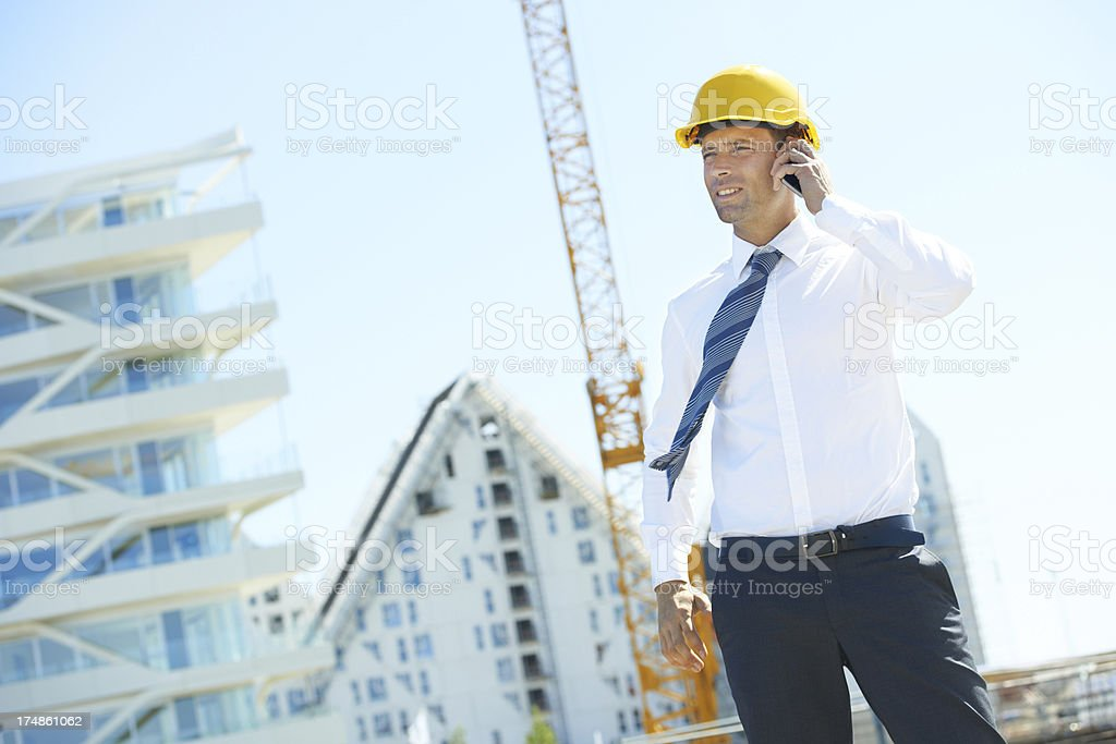 Keeping the investors informed royalty-free stock photo