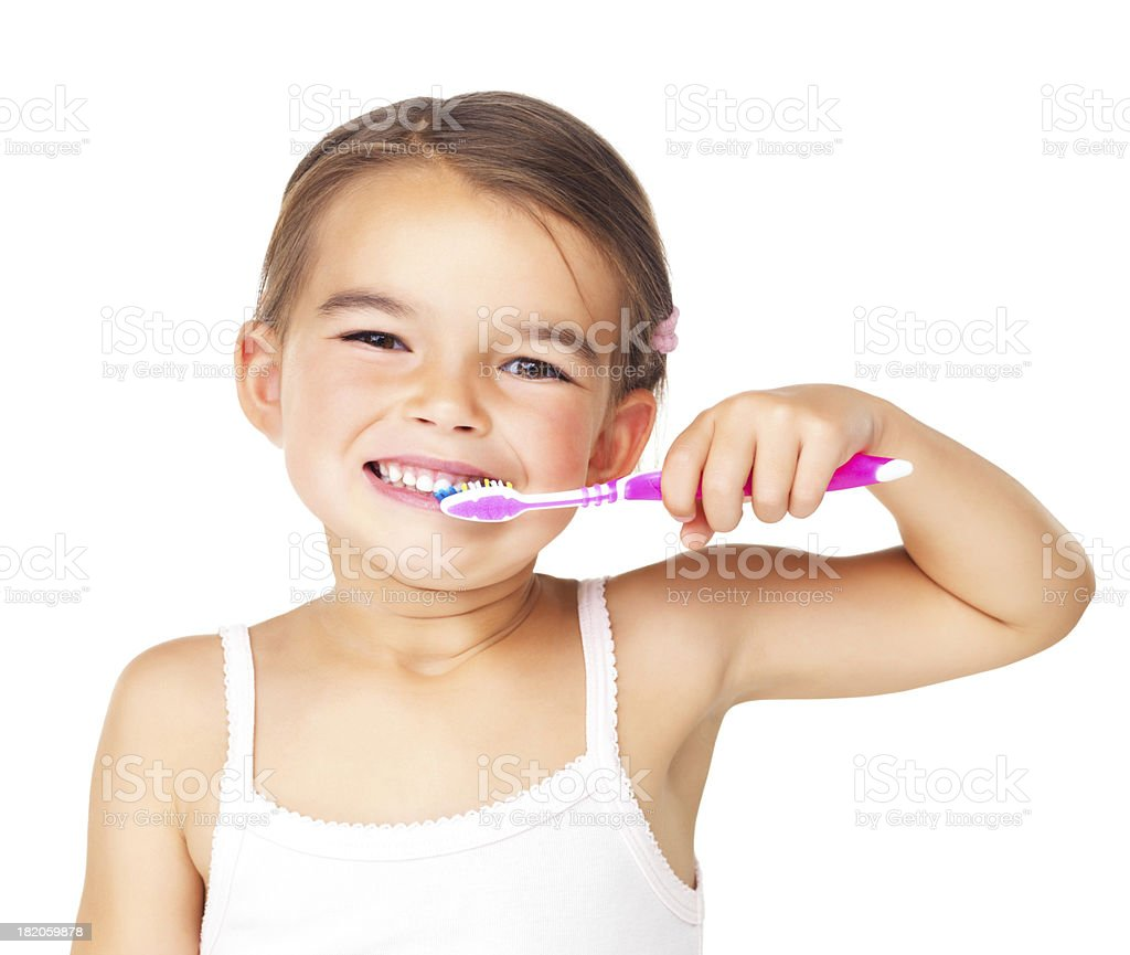 Keeping the tooth fairy happy! royalty-free stock photo
