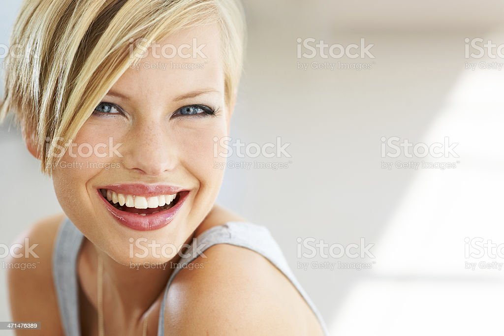 Keeping things lighthearted stock photo