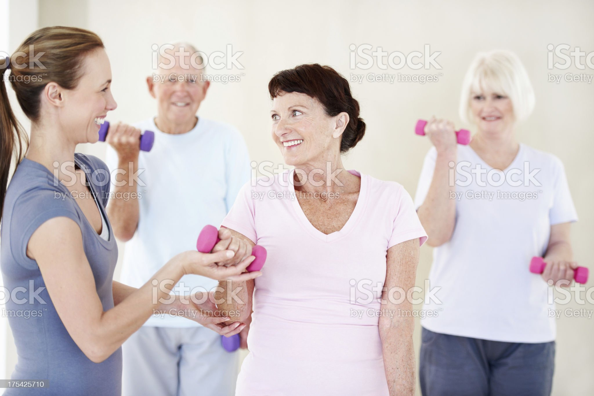 Keeping up a healthy lifestyle royalty-free stock photo