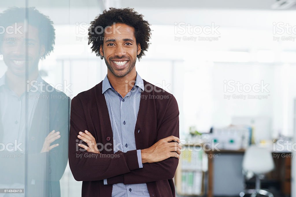 Keeping up morale in the workplace stock photo