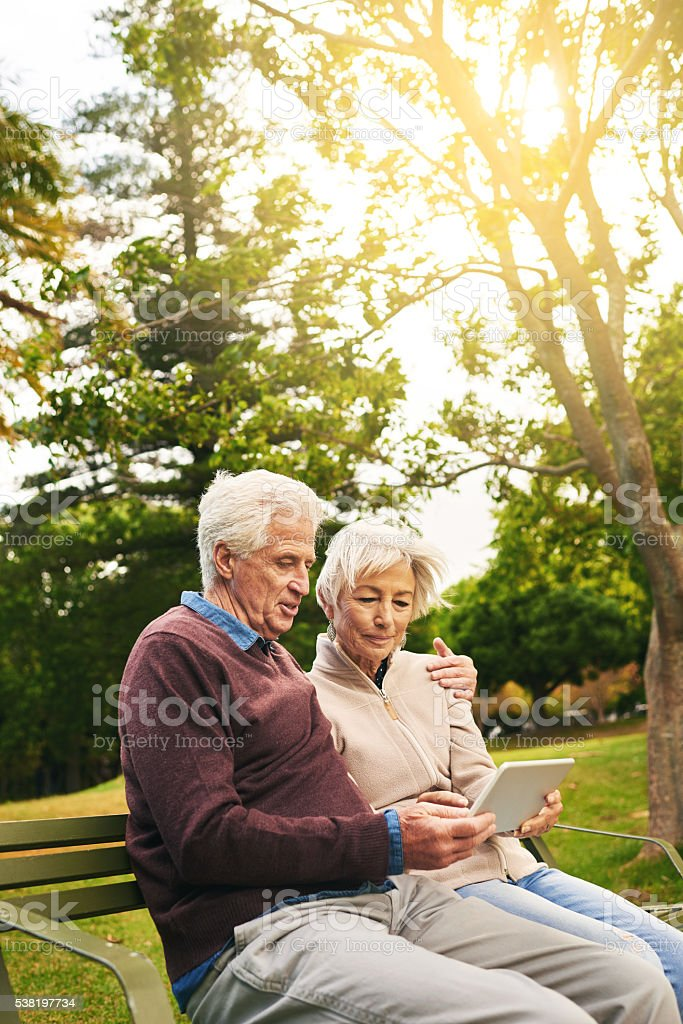 Keeping up with this generation's gadgets stock photo