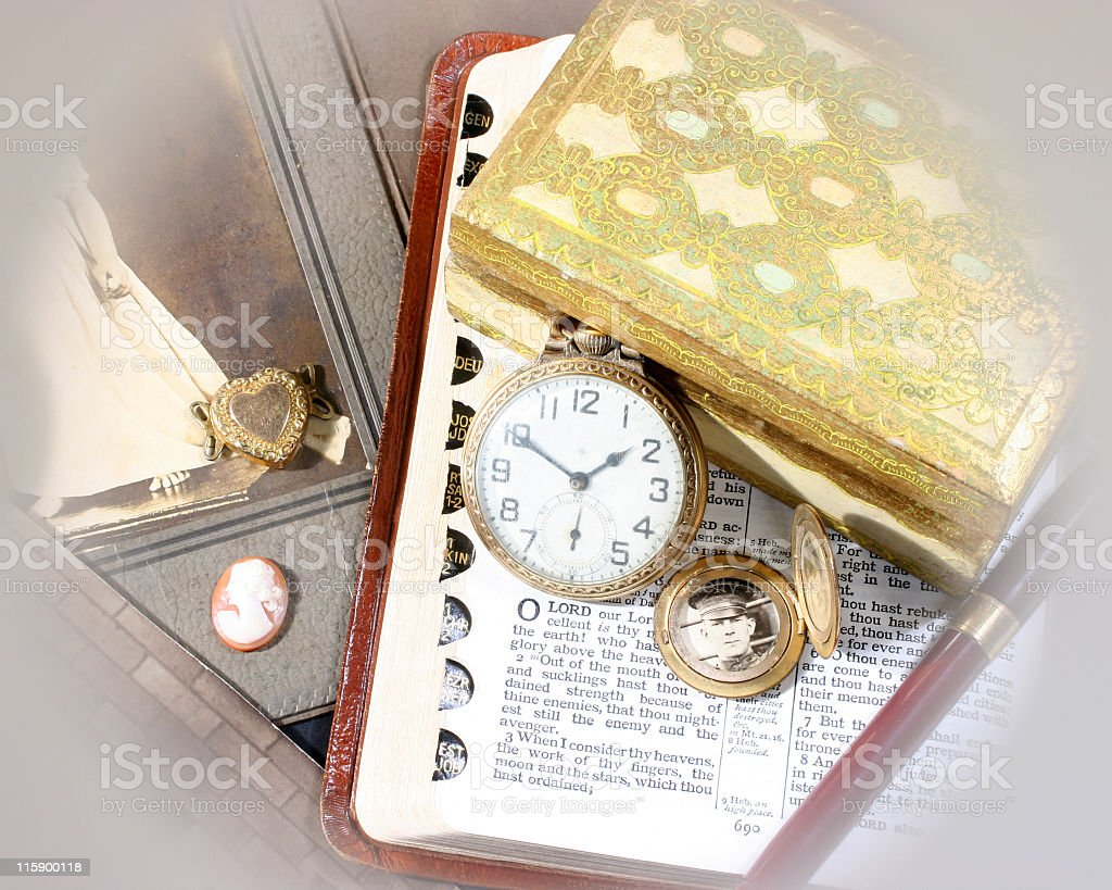 Keepsakes and Memories royalty-free stock photo