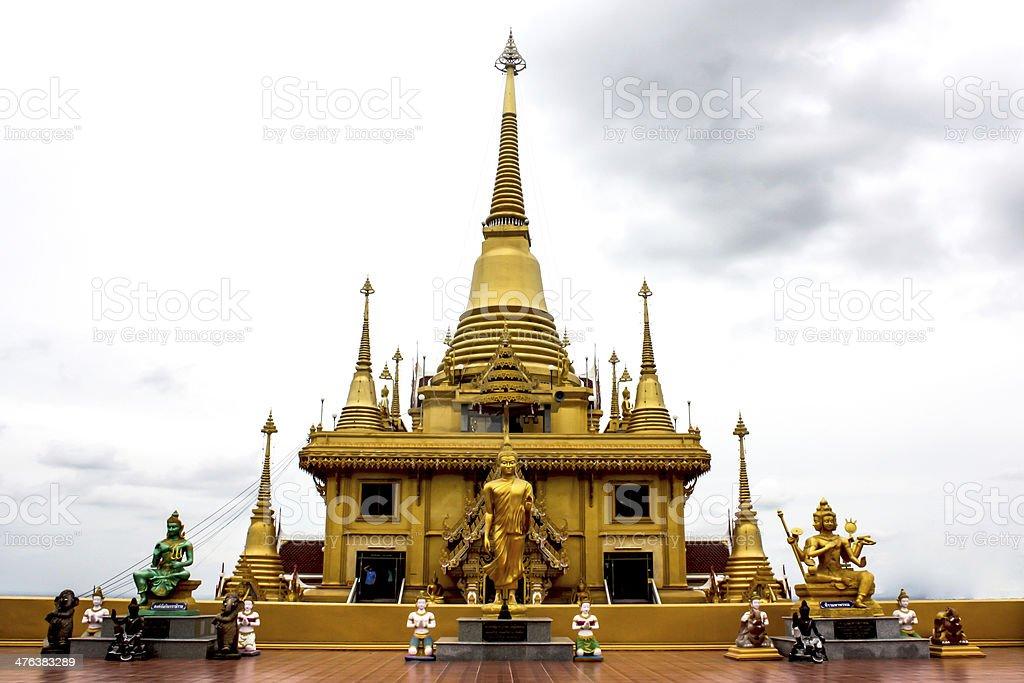 Keereewong temple or Watkeereewong royalty-free stock photo
