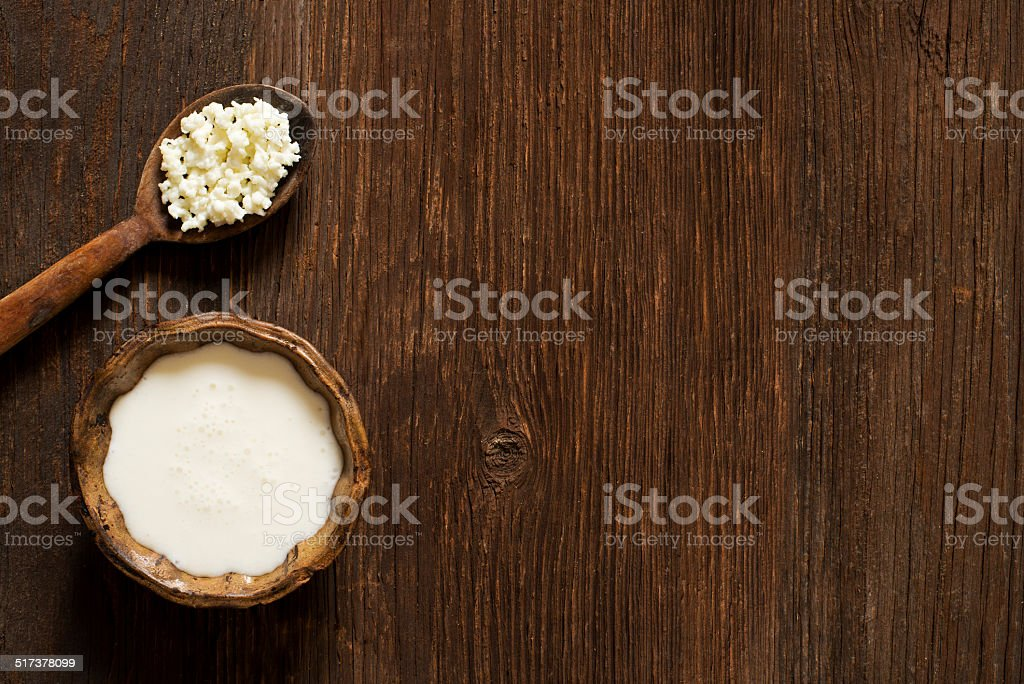 Kefir stock photo
