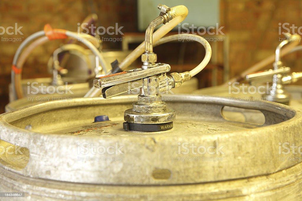 keg of beer stock photo