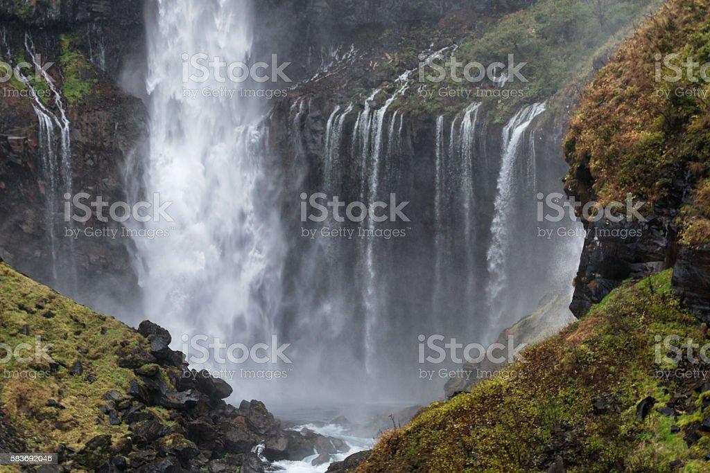 Kegon falls, Japan stock photo