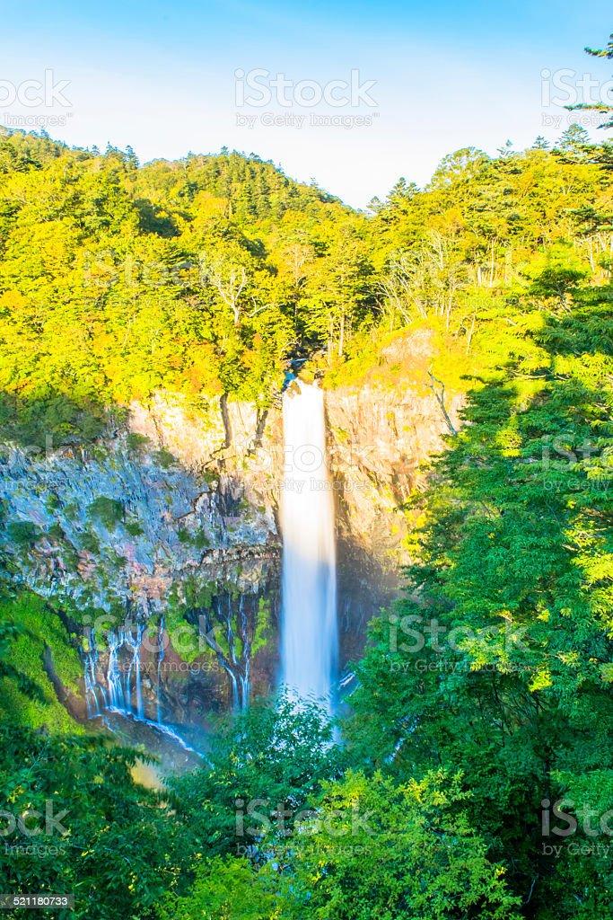 Kegon Falls stock photo