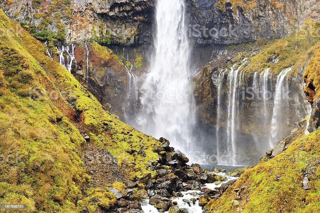 Kegon Waterfalls stock photo
