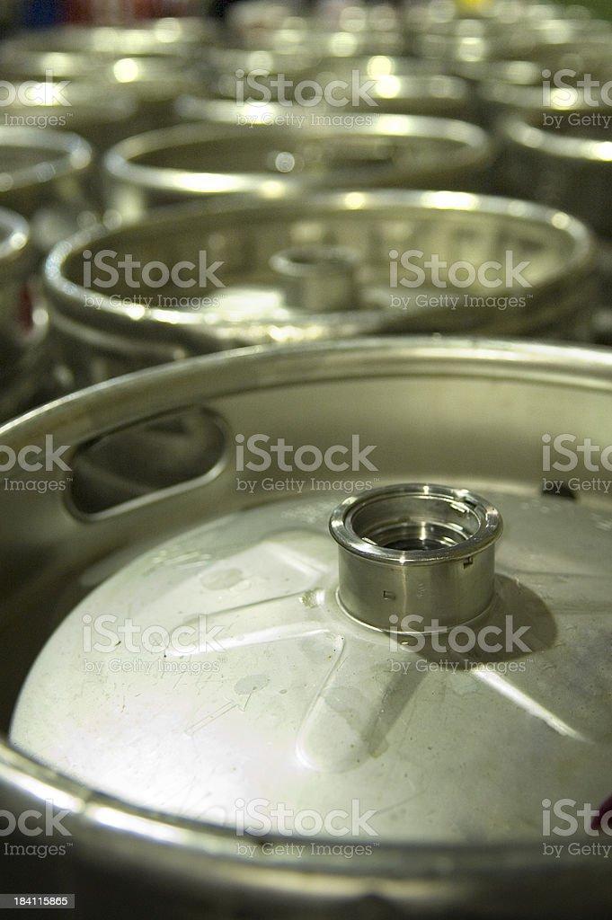 Kegs royalty-free stock photo