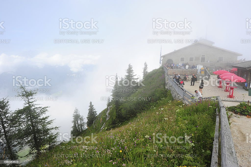 Kehlsteinhaus - Eagles Nest royalty-free stock photo