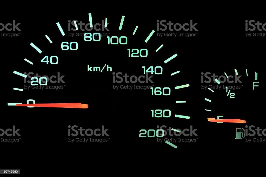 kein Benzin stock photo