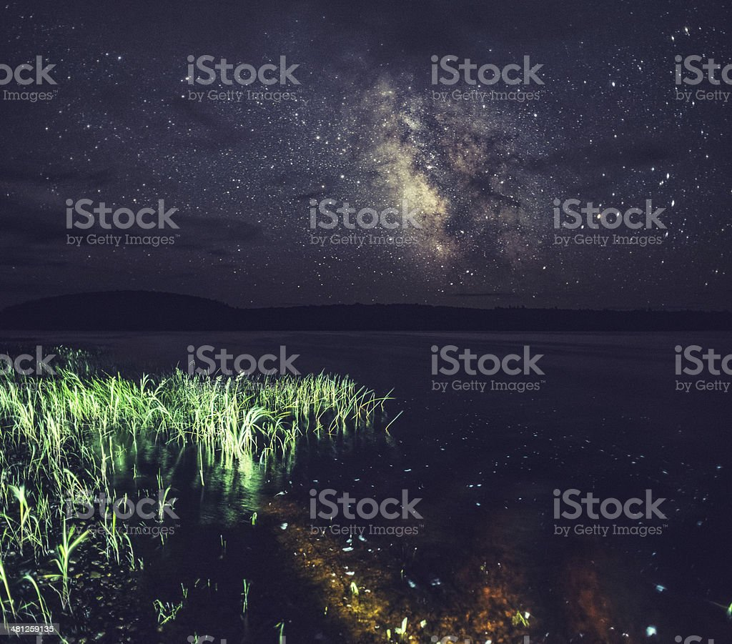 Keji Night Skies stock photo