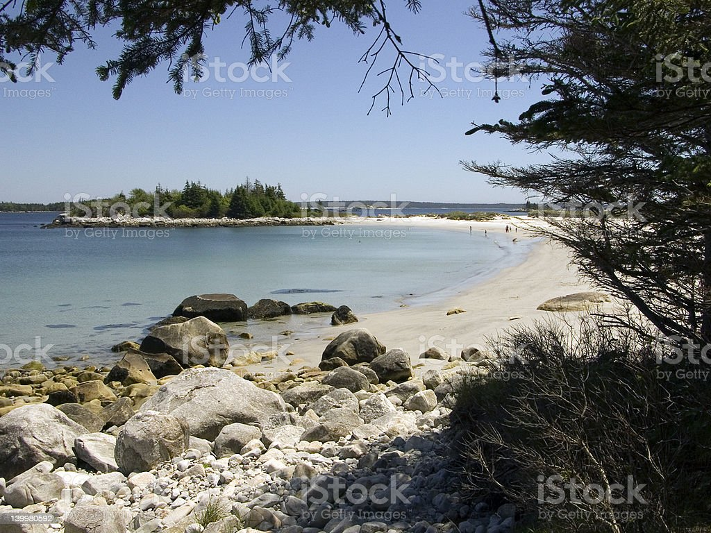 Kejimkujik National Park Seaside Adjunct stock photo