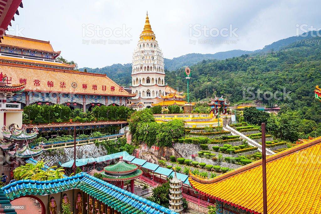 Kek lok si temple, Geroge town stock photo