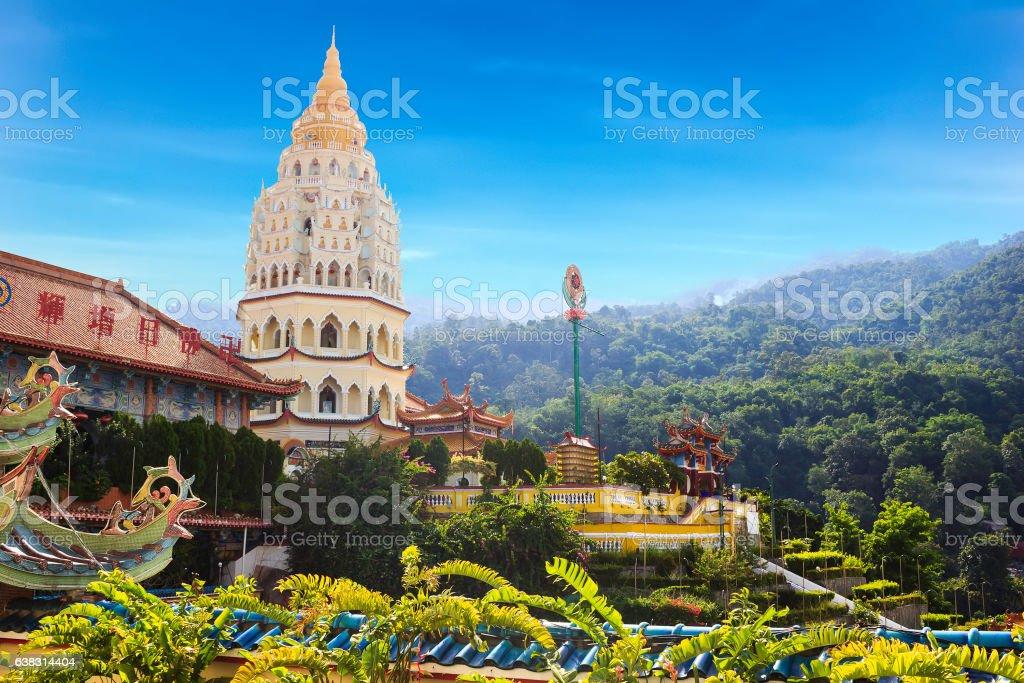 Kek Lok Si Temple in Penang stock photo