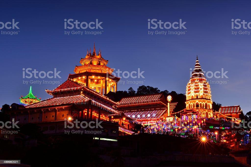 Kek Lok Si Temple, Penang stock photo