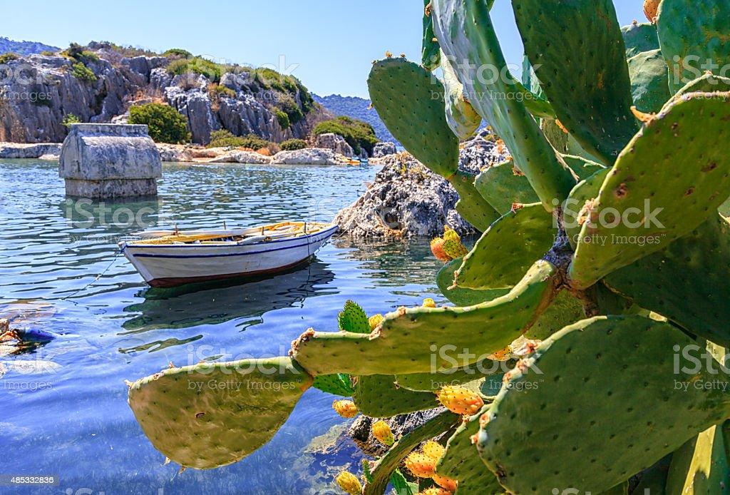Kekova, Antalya, Turkey stock photo