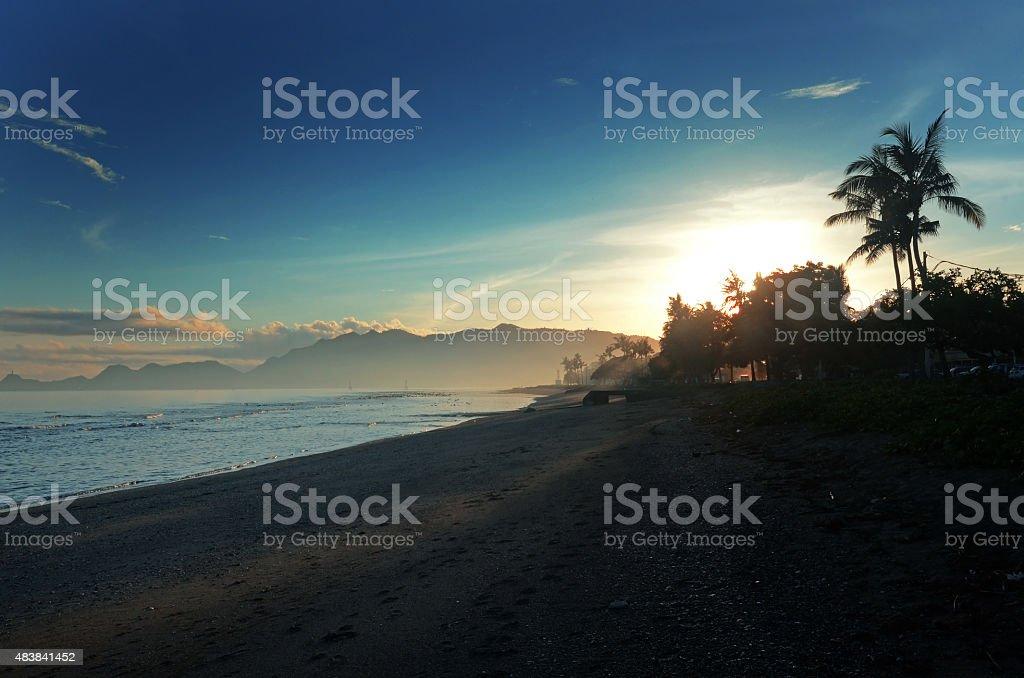 Kelapa Beach Dili stock photo
