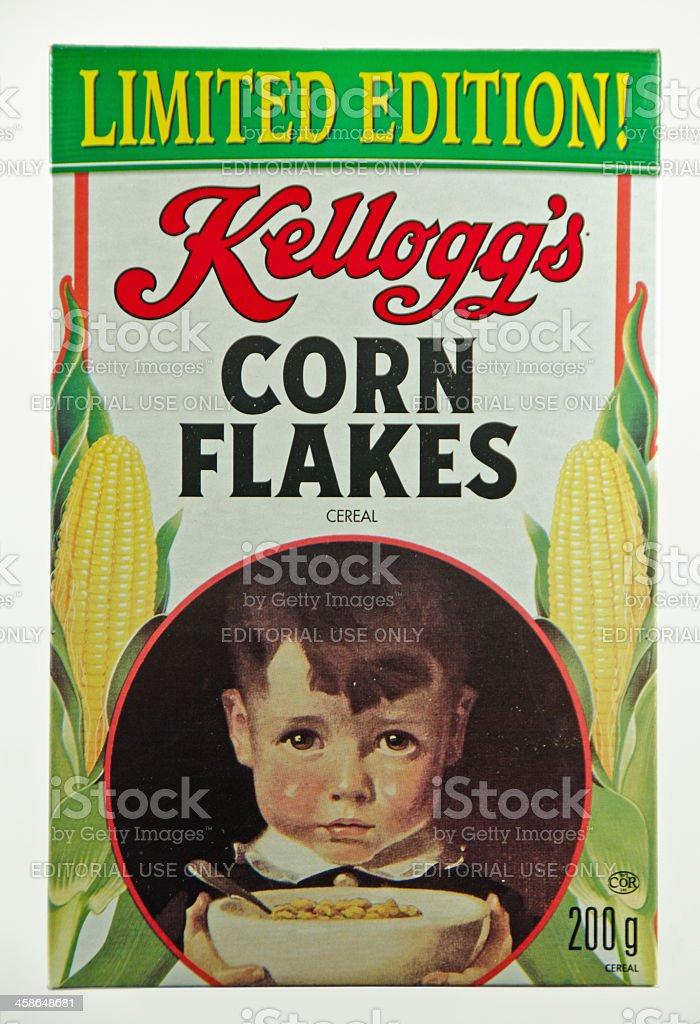 Kellogg's Corn Flakes stock photo