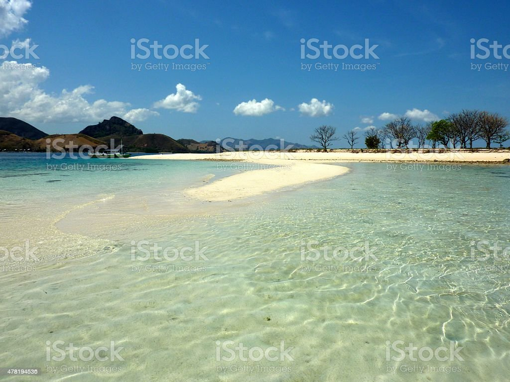 Kelor island, Flores Indonesia stock photo