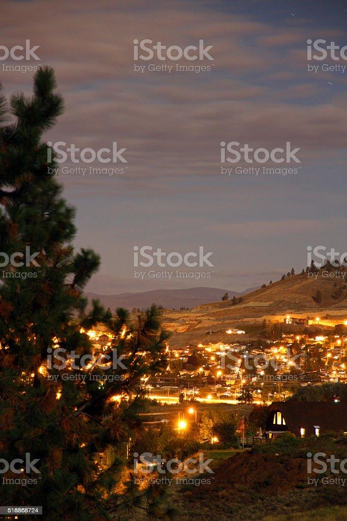 Kelowna Hills stock photo