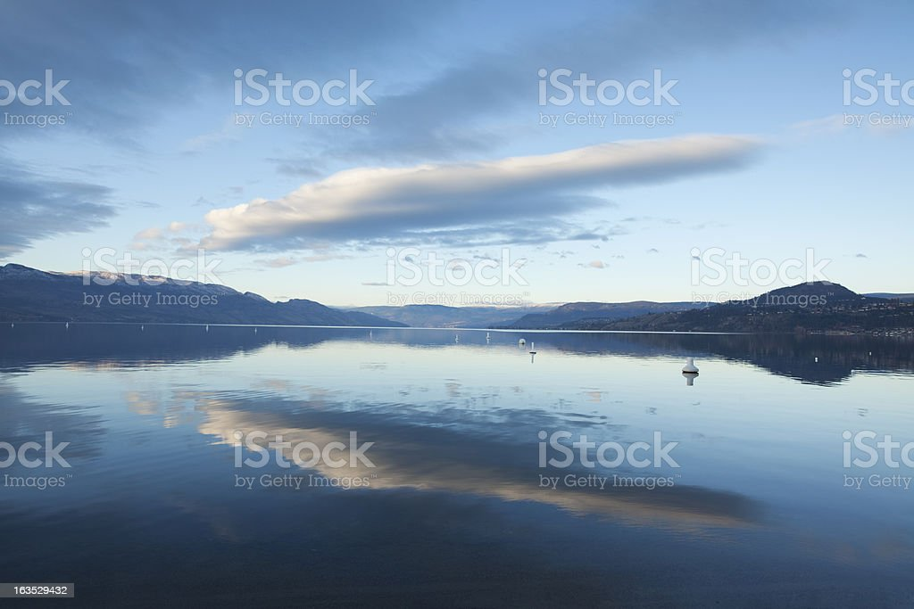 Kelowna royalty-free stock photo
