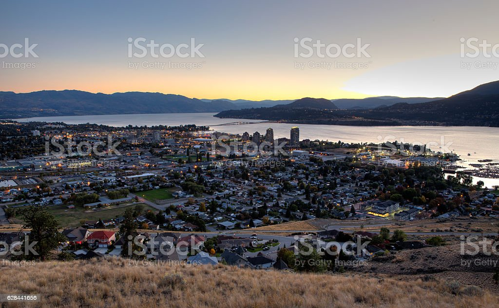 Kelowna stock photo