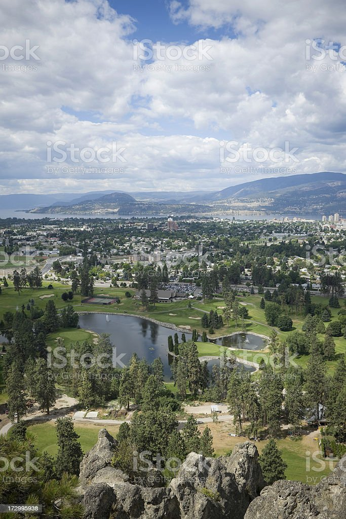 Kelowna Vista royalty-free stock photo