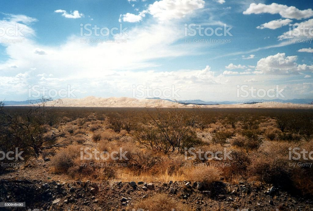 Kelso dunes, Mojave National Preserve, California stock photo