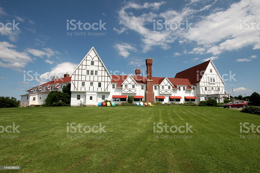 Keltic Lodge stock photo