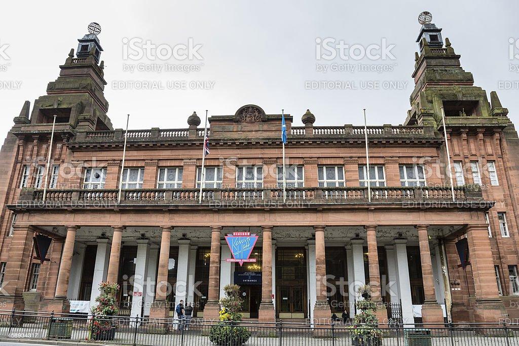 Kelvin Hall, Glasgow stock photo