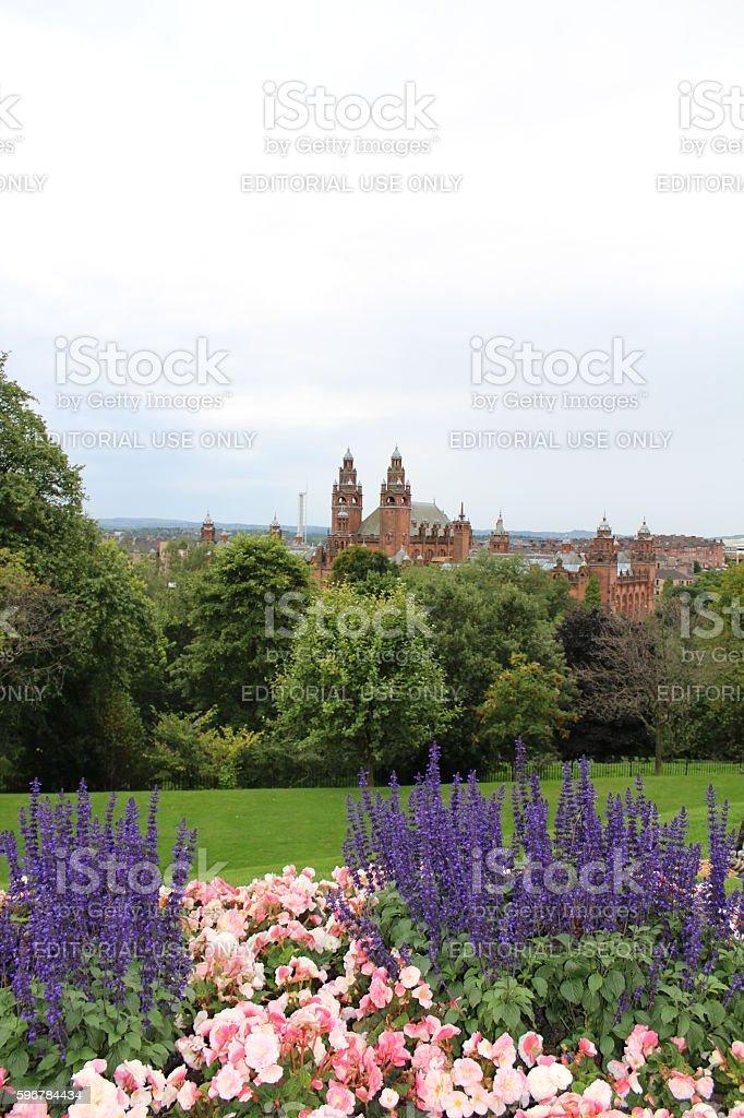 Kelvingrove Art Gallery Glasgow stock photo